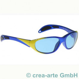 Schutzbrille Didymium blau-gelb_1072