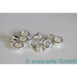 Perlenhülse Silber 925 Stempel, 5mm 10 St._1100