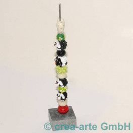 Perlenständer 4x4x2x22cm Stange 3mm_1141