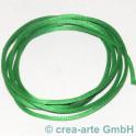 Fil en soie  1m vert