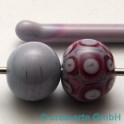 Handmade dunkelrosa pastell 5-6mm 1m