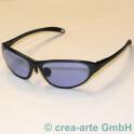 Schutzbrille Didymium stahlgrau Alugestell