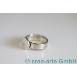 Fingerring mit Platte 10mm, 17-20mm 925er Silber_1212