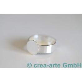 Fingerring mit Platte 10mm 18-23mm 925er Silber_1214