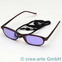 Schutzbrille Didymium 202 ACE, dunkelrot, leicht