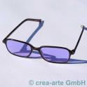 Didymium Schutzbrille korrigiert 2,5 Dioptrin