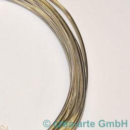 Silberdraht 0.8mm, 6m, versilbert_1719