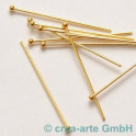 Head pin doré, 43mm 10 p.