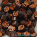 Murrine effetre marrone-orange 50g. 7-8mm_2022