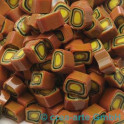 Murrine effetre marrone-orange 50g. 7-8mm_2025