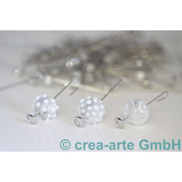 GP Headpin 0,8mm mit Zirkonia versilbert 53mm, 100_2054