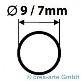 Boro Rohr, Durchmesser 9mm, Wanddicke 1mm