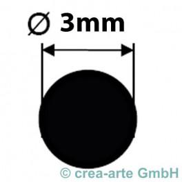 Borosilikatglasstange klar D=3mm_2097
