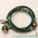 Fermeture magnetique 12mm, vert olive
