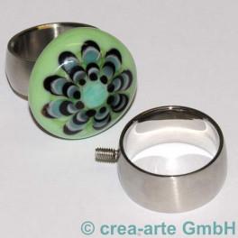 Edelstahl Rico-Design Fingerring 21mm, breit_2227