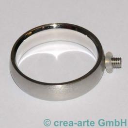 Edelstahl Rico-Design Fingerring 17mm, schmal_2228