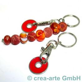 Schlüsselanhänger mit Chip, rot_226