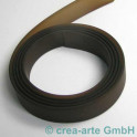 PVC Band 15mm 1m braun