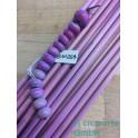 Handmade rosa fuxia EDP 6-7mm