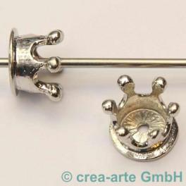 Metallkrone 11x14mm, 2 Stück_2599