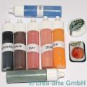 Couleur pour verre set 7 couleurs à 10ml