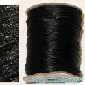 Seidenband ca 92m schwarz