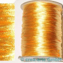 Seidenband ca 92m goldgelb