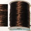 Fil en soie  env. 92m marron