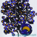 Murrine effetre luna gialla 50g. ca.5-8mm