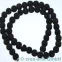 Perles de Lava tondes 8mm, 1cord (50pieces)