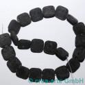 Perles de Lava 18x18x5mm, 1cord