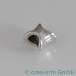 Metallperle gewellt _3355