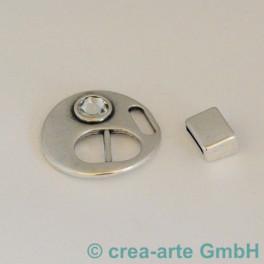 Schlaufenerschluss mit Swarovski cristall_3497