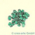 Murrine effetre verde marino 50g. 5mm_3512