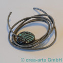 Nappaleder rund, 2.5mm, 1m, grautaupe