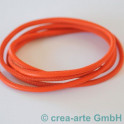 Nappaleder rund 4mm, 1m, orange_3676