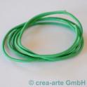 Nappaleder rund, 2.5mm, 1m, hellgrün