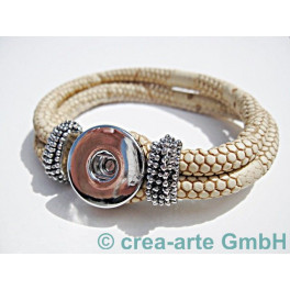 Chunk Armband creme_3740