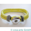 Chunk Armband gelb