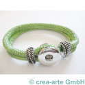 Chunk Armband hellgrün