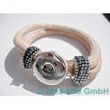 Chunk Armband lachs