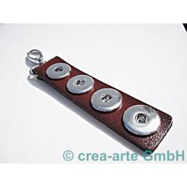 Chunk Schlüsselanhänger braun_3756