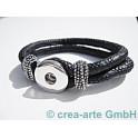 Chunk Armband schwarz
