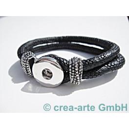 Chunk Armband schwarz_3773
