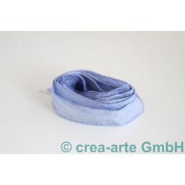 Seidenband jeansblau_3817