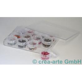 Aufbewahrungsbox mit 12 Döschen_3906