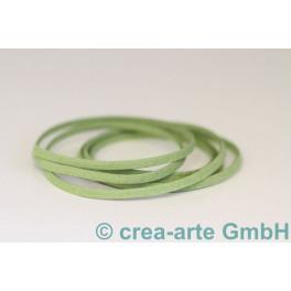 Imitationslederband olive 1m_3969