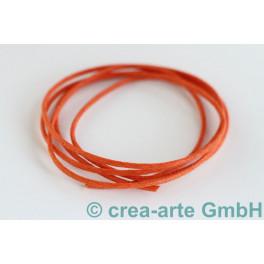 Baumwollschnur gewachst, orange_4055