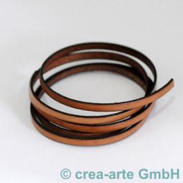 Flachlederband braun 1m_4263