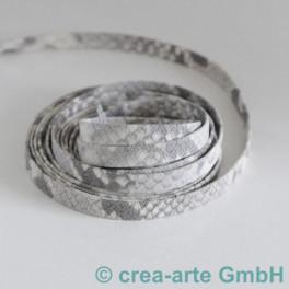 Flachlederband light grey_4282